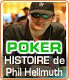 Phil Hellmuth, un joueur de poker égocentrique et provocateur.
