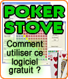 PokerStove, un logiciel qui aide à la décision lors de parties de poker en ligne.