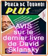 Poker de Tournoi Plus, la bible du poker de David Sklansky ?