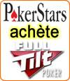 PokerStars s'offre Full Tilt et remboursera tous les joueurs dont les français.