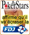"""PokerStars: """"La Française des Jeux et le PMU nous font pas peur""""..."""