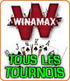Les tournois sur Winamax Poker.