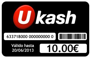 Carte Ukash.