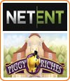 Piggy Riches de Netent dispose d'un jackpot élevé.