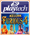 Age of the Gods Furious 4, machine à sous de Playtech.