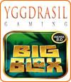 Big Blox, machine à sous slot Yggdrasil.
