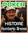Humberto Brenes excelle dans sa passion, uniquement par plaisir de jouer au poker.