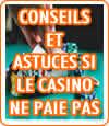 Conseils et astuces pour se faire payer par un casino en ligne.