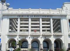 Casino Partouche Le Palais de la Méditerranée de Nice.