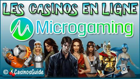 Casinos en ligne Microgaming pour les joueurs francophones, anglophones et hispaniques.