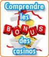 Comprendre les bonus gratuits des casinos.