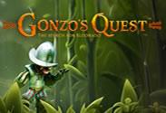 Machine à sous Gonzo's Quest de Netent.