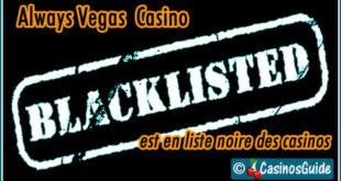 21 Dukes Casino liste noire blacklist.