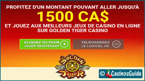 Golden Tiger Casino est doté du dernier logiciel de Microgaming, le Viper.