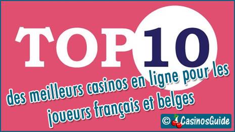 Meilleurs casinos en ligne fiables en français.
