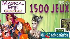 Casino en ligne Magical Spin, jouez en toute confiance, support en français !